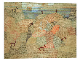 Obraz na PCV  Landscape with Donkeys - Paul Klee