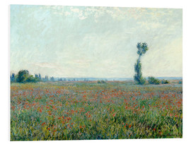 Obraz na PCV  Field with poppies - Claude Monet