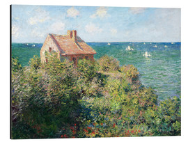 Obraz na aluminium  Fisherman's Cottage on the Cliffs at Varengeville - Claude Monet