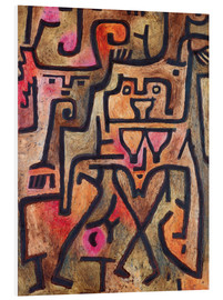 Obraz na PCV  Forest witches - Paul Klee