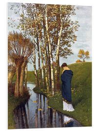 Obraz na PCV  Autumn thoughts - Arnold Böcklin