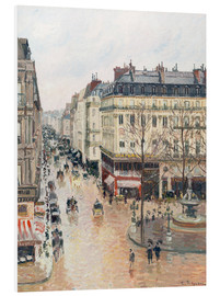 Obraz na PCV  The Rue Saint-Honoré in the Afternoon - Camille Pissarro