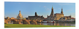 Obraz na PCV  Dresden Canaletto view - FineArt Panorama