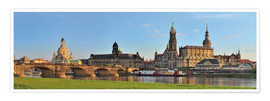 Plakat Dresden Canaletto view