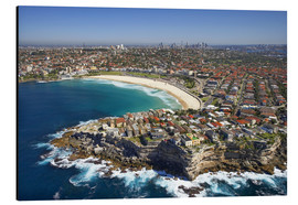 Obraz na aluminium  Aerial view of Bondi Beach - David Wall