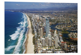 Obraz na PCV  Surfer's Paradise from the air - David Wall