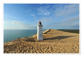 Plakat Lighthouse Rubjerg Knude in Denmark