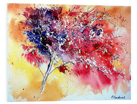 Obraz na PCV  Red tree - Pol Ledent