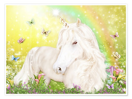 Plakat Unicorn of Happiness