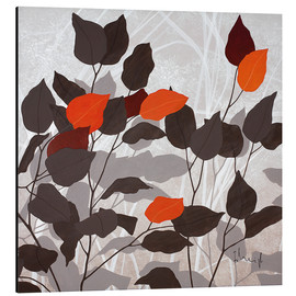 Obraz na aluminium  Autumn leaves III - Franz Heigl