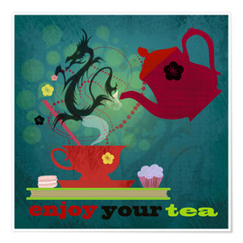 Plakat Enjoy your tea