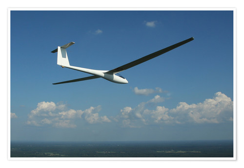 Plakat Glider over the sea