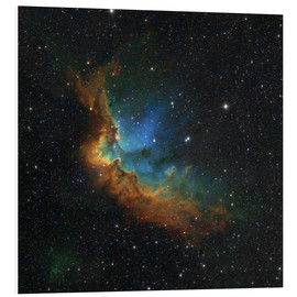 Obraz na PCV  NGC 7380 in the Hubble palette colors - Rolf Geissinger