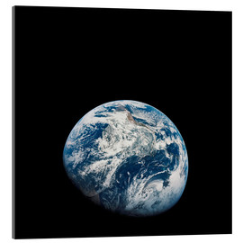 Obraz na szkle akrylowym  Earth from the viewpoint of Apollo 8
