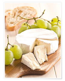 Plakat French soft cheese