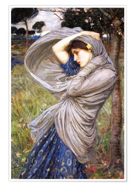 Plakat  Boreas - John William Waterhouse