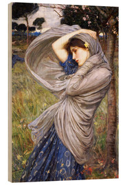 Obraz na drewnie  Boreas - John William Waterhouse
