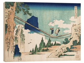 Obraz na drewnie  Minister Toru, from the series Poems of China and Japan - Katsushika Hokusai
