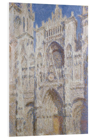Obraz na PCV  Cathedral afternoon - Claude Monet