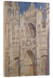 Obraz na drewnie  Cathedral afternoon - Claude Monet