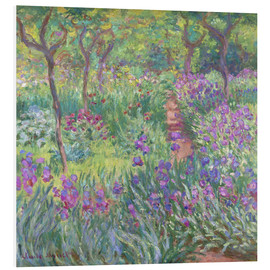 Obraz na PCV  The Iris Garden At Giverny - Claude Monet
