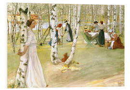 Obraz na PCV  Breakfast in the Open - Carl Larsson