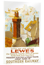 Obraz na szkle akrylowym  Come see and admire Lewes - Gregory Brown