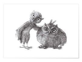 Plakat Two Owls - Stan & Oliver