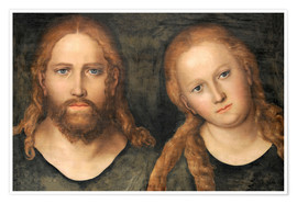 Plakat Christ and Mary Magdalene