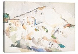 Obraz na płótnie  The Château Noir and Sainte-Victoire mountains - Paul Cézanne