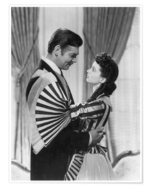 Plakat Gone With The Wind, 1939