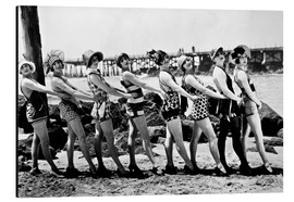 Obraz na aluminium  Bathing Beauties, 1916