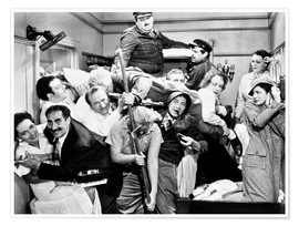 Plakat The Marx Brothers, 1935