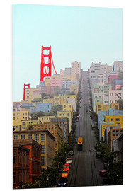 Obraz na PCV  San Francisco and Golden Gate Bridgee - John Morris
