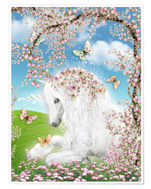 Plakat Dreamy unicorn