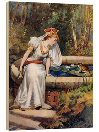 Obraz na drewnie  The Frog Prince - William Henry Margetson