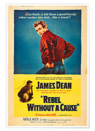 Plakat  Rebel Without a Cause
