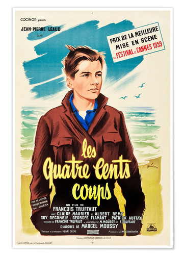 Plakat The 400 Blows (French)