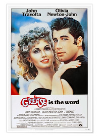 Plakat  Grease