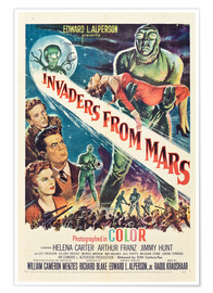 Plakat  Invaders from Mars
