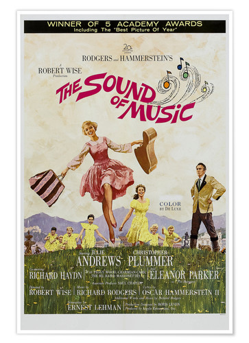 Plakat The Sound of Music