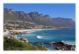 Plakat  Camps Bay, Cape Town, South Africa - wiw