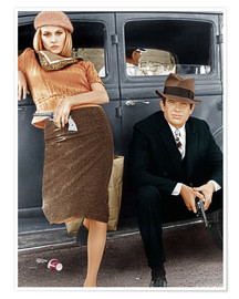 Plakat Bonnie and Clyde
