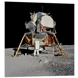 Obraz na PCV  Apollo 11 Astronaut and Edwin Aldrin on the Moon
