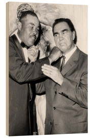 Obraz na drewnie  Max Schmeling and Joe Louis