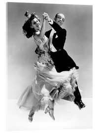Obraz na szkle akrylowym  Rita Hayworth and Fred Astaire