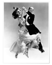 Plakat Rita Hayworth and Fred Astaire