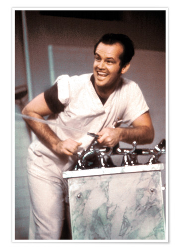 Plakat Jack Nicholson in One Flew Over the Cuckoo's Nest