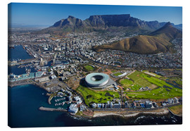 Obraz na płótnie  Cape Town Stadium and Table Mountain - David Wall