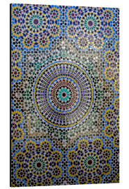 Obraz na aluminium  Mosaic wall of a fountain - Kymri Wilt